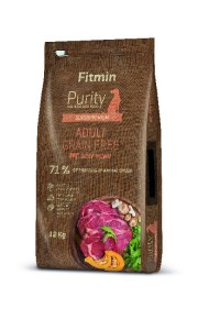 FITMIN Purity Grain Free beef 12kg